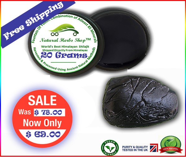 Shilajit Natural Herbs Shop 20