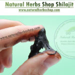 shilajit natural herbs shop hands