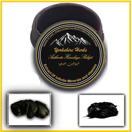 Shilajit by yorkshire herbs 10 Grams